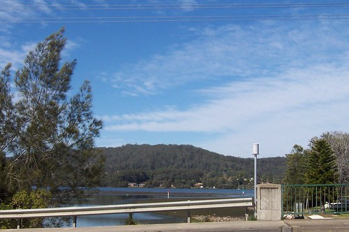 Mouth of Erina Creek from Punt Bridge East Gosford