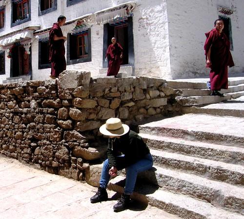 Drepung Monastery - Lhasa, Tibet - May 2006