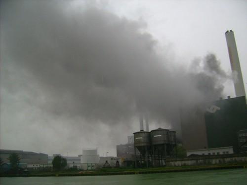 Brand bei den Stadtwerken Münster