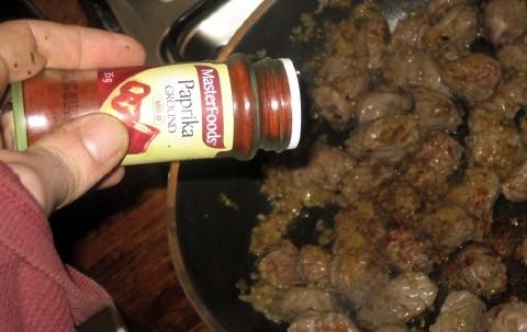 Add paprika