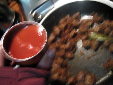 Add tomato paste 1