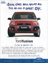Ford Fusion Print Ad