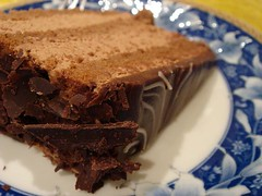 Chocolate Japanese Sake Cake