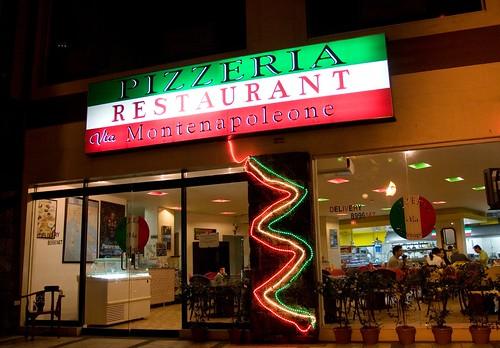 Pizzeria via montenapoleone the best italian pizza in town in just 5
