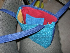 Knitting Bag outside