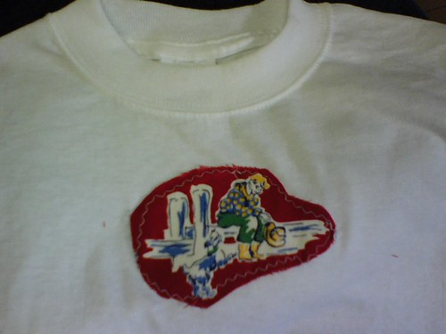 Cowboy  Applique T-shirt