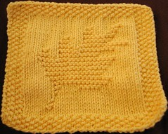 September 06 Dishcloth KAL
