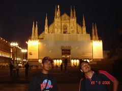 Milan Cathedral di Waktu Malam, Milan, Italy