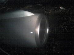 Engine lit