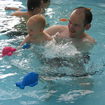 swimming is great fun we get to splash about<br/>15 Oct 2005