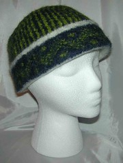 Felted Four Corner Hat