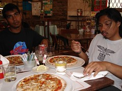 Makan Pizza, Verona, Italy