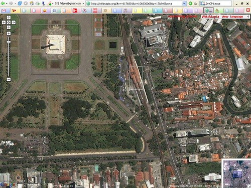 Monas and Gambir