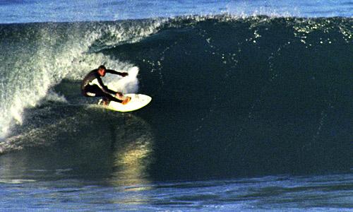 Surfer, Manly Beach, Sydney Australia. www.beachnet.com.au