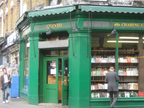 bookshops in London.