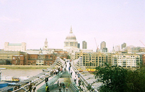 Millenium Bridge from Tate, 2
