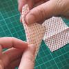 Folding kanzashi petals - step 3