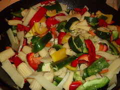 Veggies in the Wok
