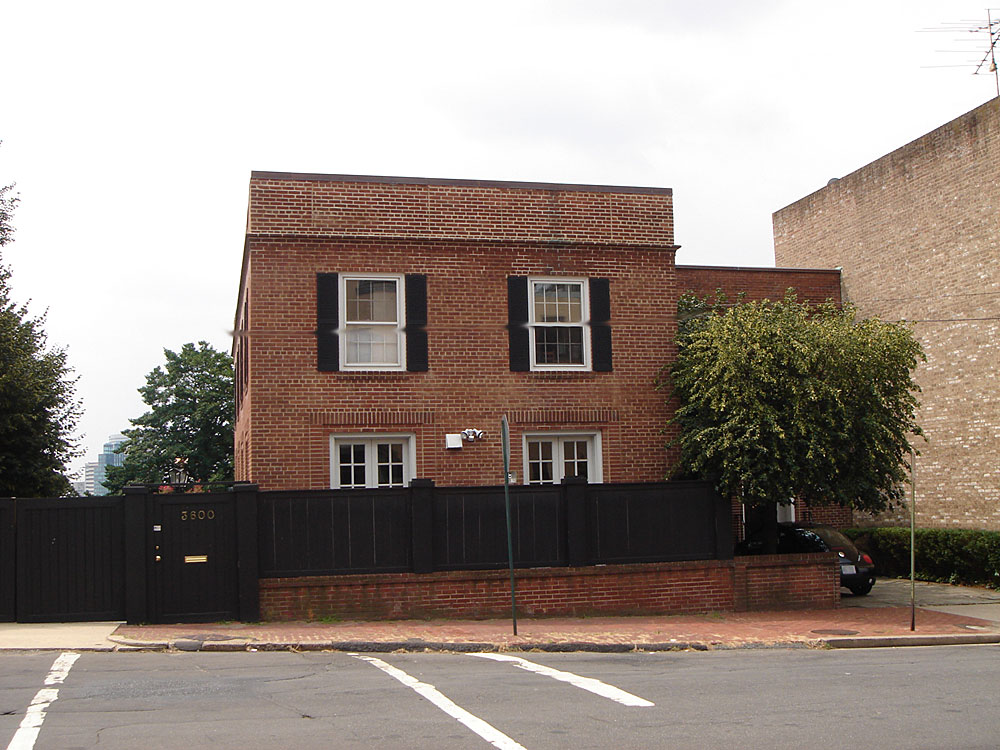 The 'Exorcist House' in Georgetown, DC