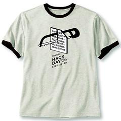 hack day t-shirt