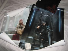 Square-Enix stuff i bought at TGS 2006