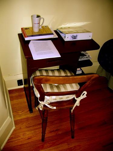 my wee desk