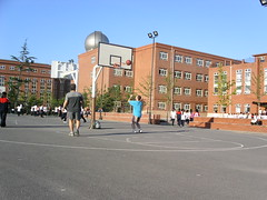 Playing Basketball - Haidian Foreign Language Experimental School