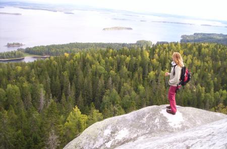 Finlandia en verano: lagos