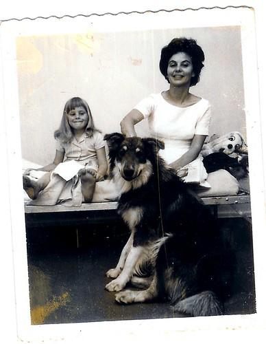 Mom and me and Lobo
