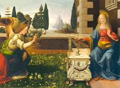 Annunciation oleh Leonardo da Vinci