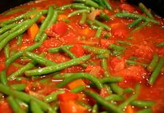 Green Beans Bolognese