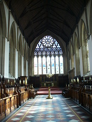 Chapelle de Merton College in Oxford