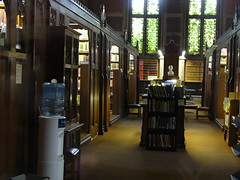 Bibliothèque de Keble College in Oxford