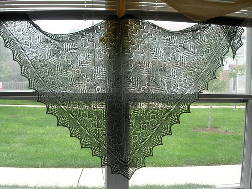 Pacific Northwest Shawl 3