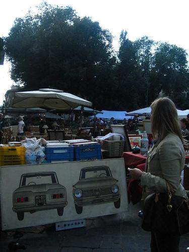 Market Day, Piazza Santo Spirito