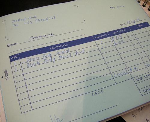 1st DL Invoice