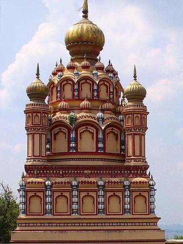 Sommet du temple de Pavarti