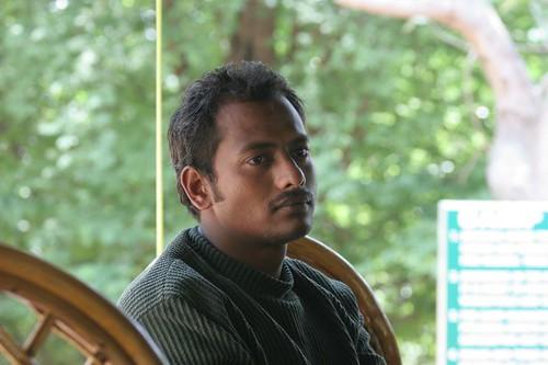IMG_0052 Gurudutt, the naturalist at Bheemeshwari