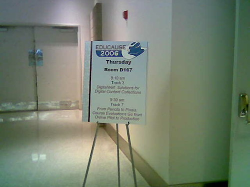 Presentation sign