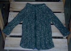 Pikkupojan villatakki Nalle Colorista (koko noin 98 cm)