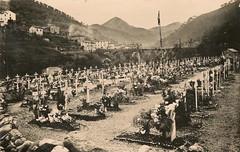 1945- Cimetière de l'Escarene - crédit photo Jean Pflieger