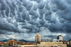 Mammatus Cloud Formations Roanoke Va Weather photo by Terry Aldhizer