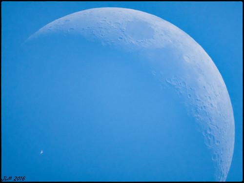 18h47mn43s ISS devant la Lune