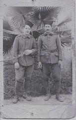Beyrouth juin 1940 - A gauche le sergent chef Nicolas RINGLE- Crédit photo Chistian Ringlé