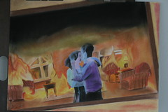 Everything's Fine (Denial), Pastel Comp, Andy Nguyen. photo by Cavalier Art RM 204