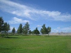 Outskirt of Khovd city