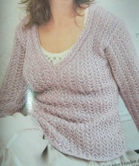 Verena - Plus size Pink sweater