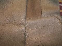 cuff sewed