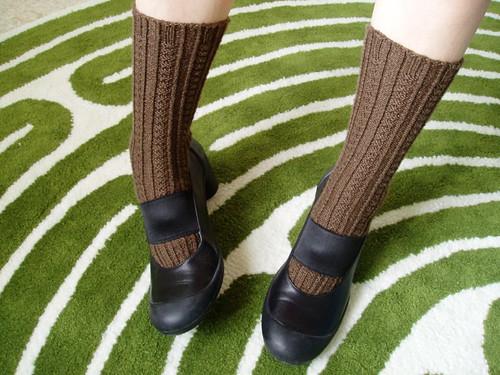 Retro Rib socks and Camper shoes