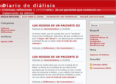 Diario de Diálisis